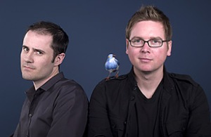 Evan Williams & Biz Stone of Twitter